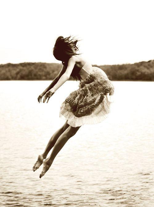 danse vole saut