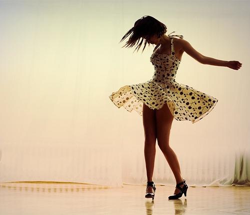 Préparation de mon exposition de photo de danse