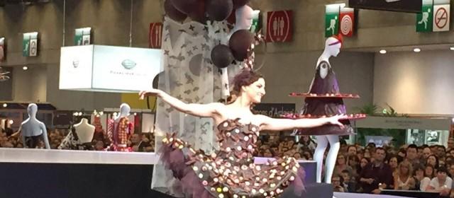 Globe Dancers au salon du chocolat 2014
